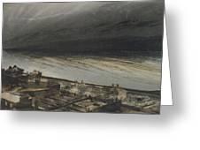 Marine Terrace In Jersey Greeting Card