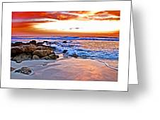 Marineland Sunrise Greeting Card