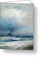 Maritime Scene Greeting Card
