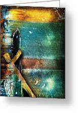 Mark 1 Greeting Card by Switchvues Design