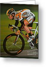 Mark Cavendish Greeting Card by Paul Meijering