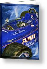 Mark Donohue 1972 Indy 500 Winning Car Greeting Card