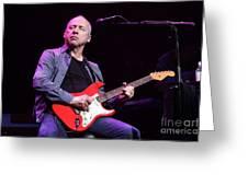 Dire Straits - Mark Knopfler Greeting Card