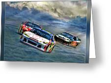 Mark Martin Greeting Card