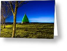 Marker Bhuoy At Largs Yacht Haven Greeting Card