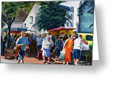 Market Day Greeting Card