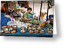Market Fish Greeting Card