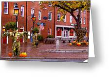 Market Square Harvest - 2005 Greeting Card