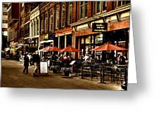 Market Square - Knoxville Tennessee Greeting Card