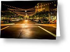 Market Street Greeting Card