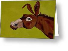 Marlene The Mule Greeting Card