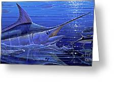Marlin Mirror Off0022 Greeting Card