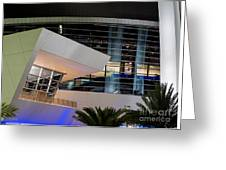 Marlins Park Stadium Miami 6 Greeting Card