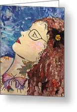 Marna Greeting Card by Karen Carnow