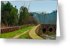 Marnel Medieval Bridge Greeting Card