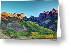 Maroon Bells National Recreation Area Greeting Card