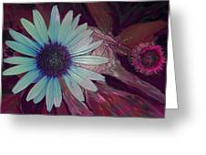 Maroon Mood Greeting Card