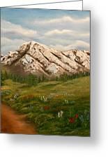 Maroon Trail Splendor Greeting Card