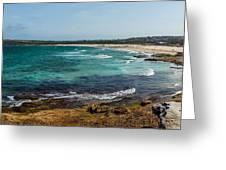 Maroubra Bay Greeting Card