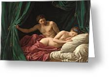 Mars And Venus. Allegory Of Peace  Greeting Card