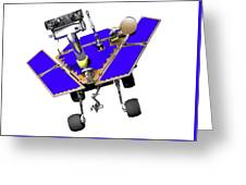 Mars Exploration Rover Greeting Card