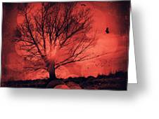 Mars Tree Greeting Card