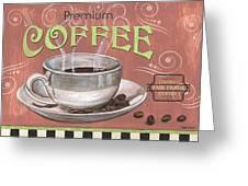 Marsala Coffee 2 Greeting Card