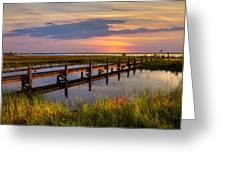 Marsh Harbor Greeting Card