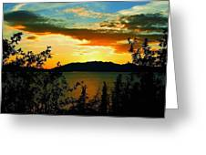 Marsh Lake - Yukon Greeting Card