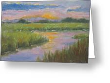 Marsh Light Greeting Card