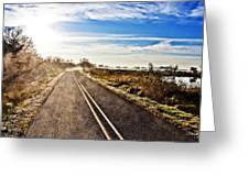 Marsh Road Greeting Card