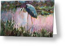 Marsh Time Greeting Card