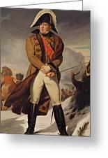 Marshal Michel Ney 1769-1815 Duke Of Elchingen Oil On Canvas Greeting Card