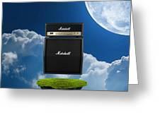 Marshall Amp Greeting Card