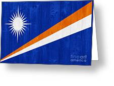 Marshall Islands Flag Greeting Card