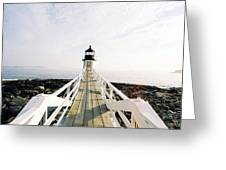 Marshall Point Approach  Greeting Card