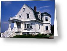 Marshall Point Keepers House Greeting Card