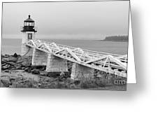 Marshall Point Lighthouse 2937 Greeting Card
