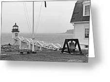 Marshall Point Lighthouse 2963 Greeting Card
