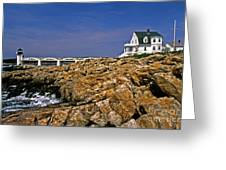 Marshall Point Lighthouse Complex Greeting Card