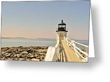 Marshall Point Lighthouse Maine Greeting Card