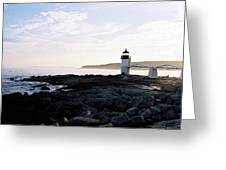 Marshall Point Sky Greeting Card