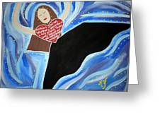 Martha Graham Greeting Card