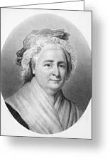 Martha Washington (1732-1802) Greeting Card