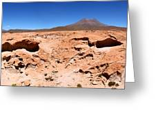 Martian Landscapes On Earth Greeting Card
