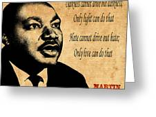 Martin Luther King Jr 1 Greeting Card