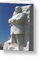 Martin Luther King Jr. Memorial Greeting Card by Mike McGlothlen