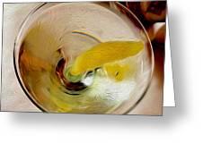 Martini 3 Greeting Card