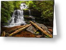 Martins Creek Falls Greeting Card