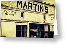 Martins General Store Greeting Card